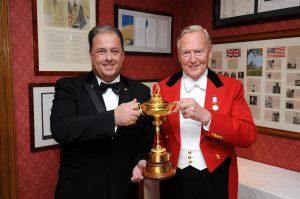 Ian Richards - Paddy Hine - Ryder Cup