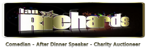 Ian Richards - Comedian, After Dinner Speaker, Charity Auctioneer
